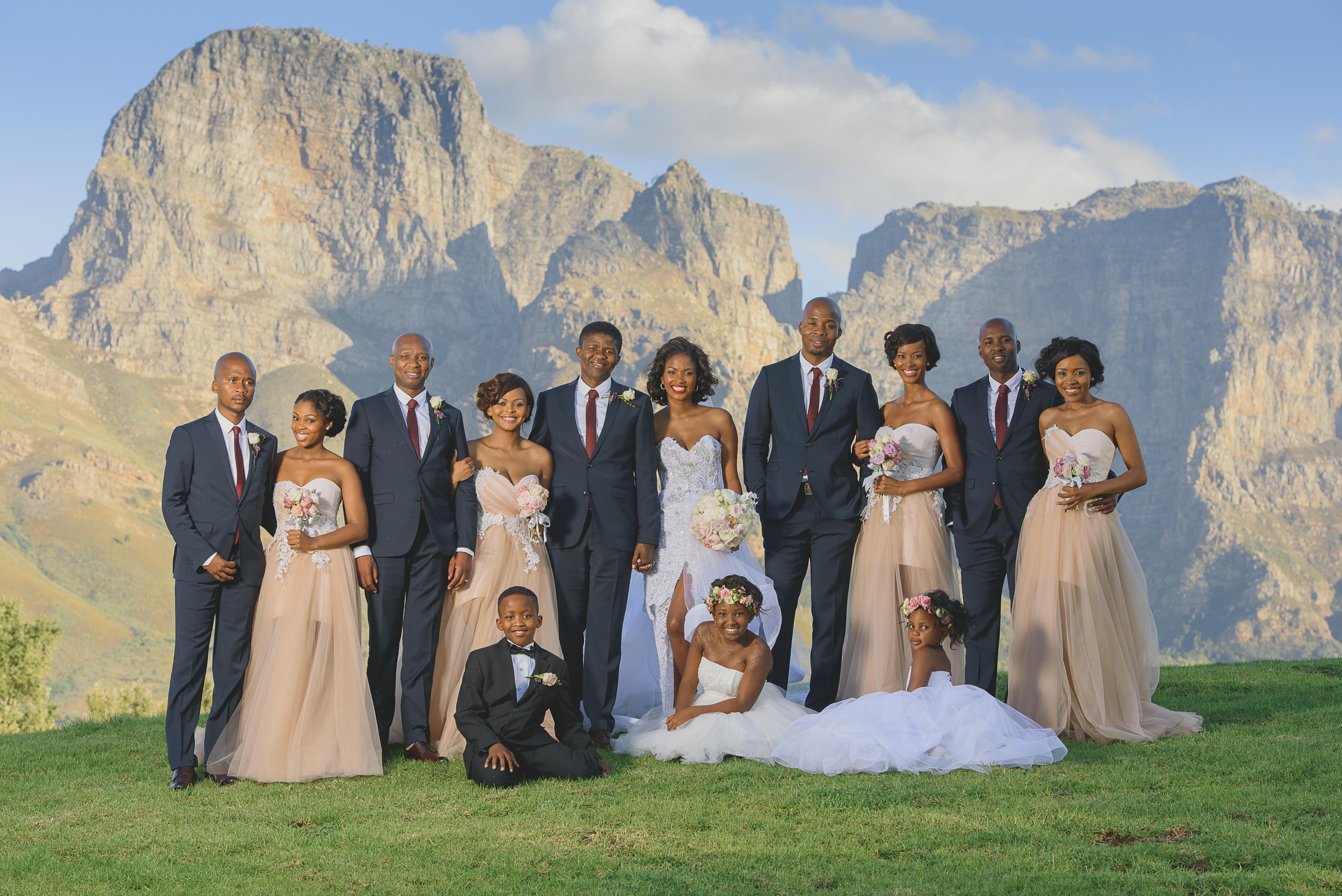 Glamourous Golden Gala Jumoke Seyi S Real Life Wedding