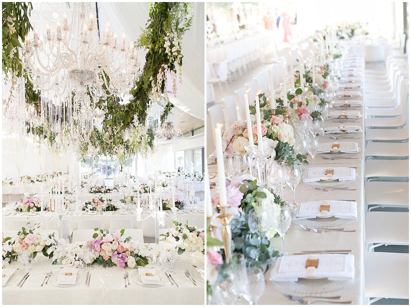 modern luxury wedding decor