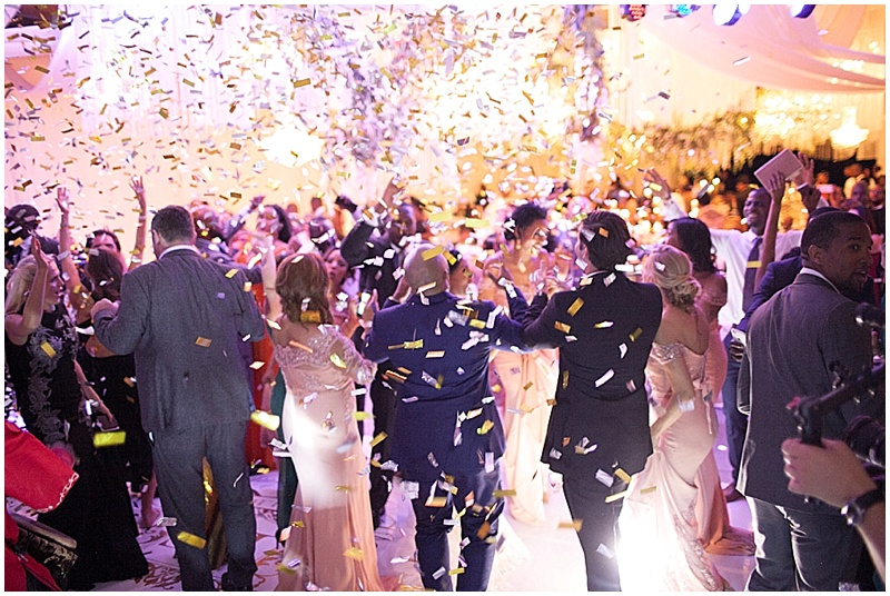 confetti cannon confetti bomb wedding concepts