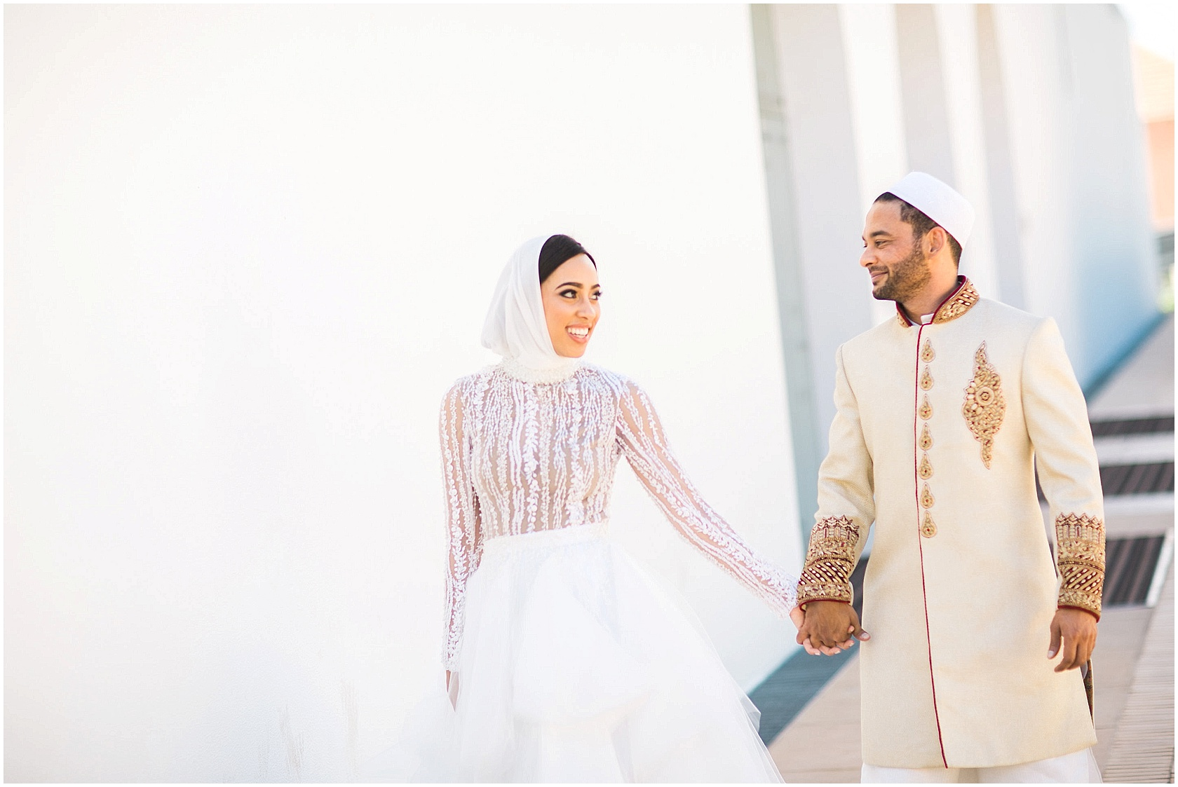 Sarah Langa and Jehan Mackay Nikkah Ceremony
