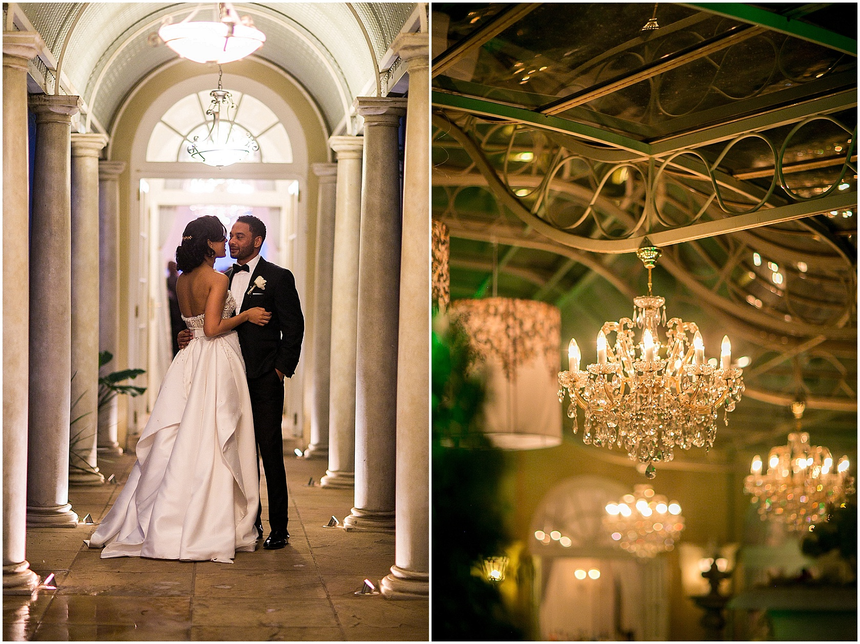 Elegant Wedding setting - Sarah and Jehan Mackay