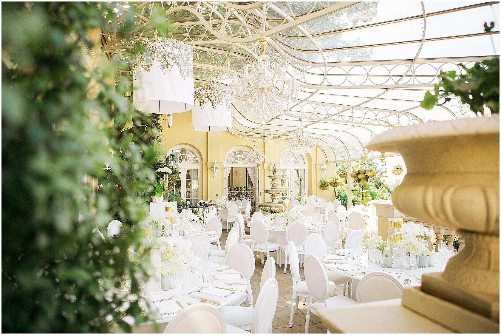 Glamorous White Wedding