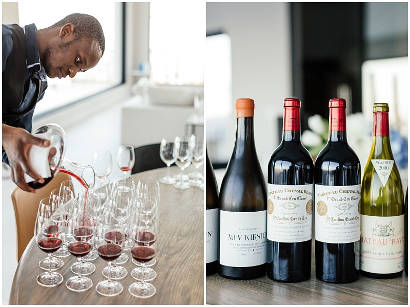 wine pairing with Cape Town Sommelier