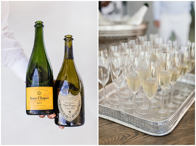 Veuve Clicquot wedding French champagne