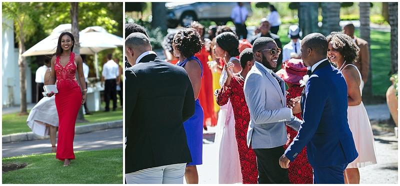 fashionable wedding