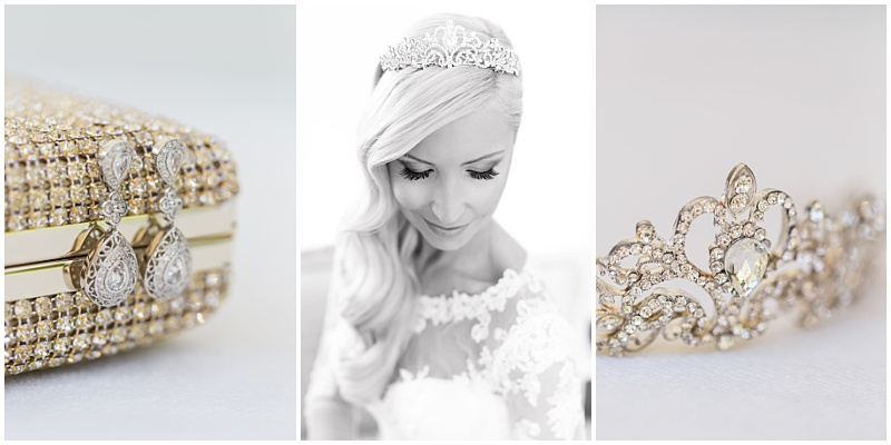 diamond wedding accessories