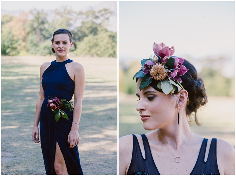 Bridesmaids floral crown
