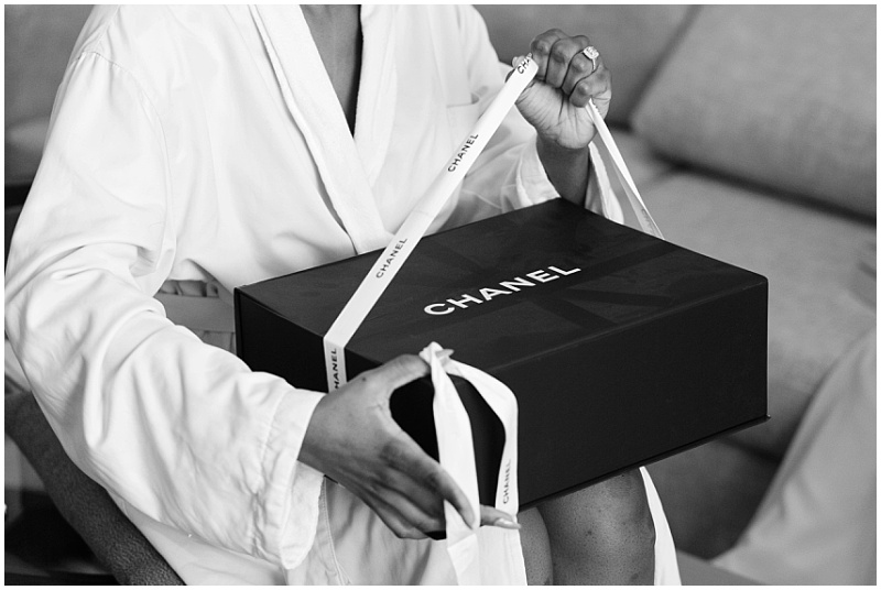 Chanel wedding gift