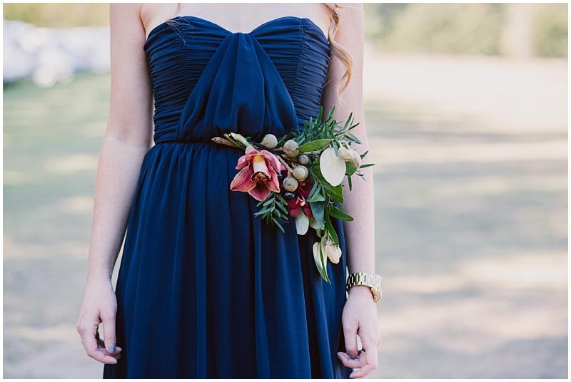 bridesmaids floral waistbelt
