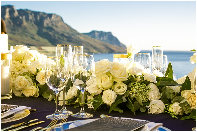 Table Mountain seaside table decor