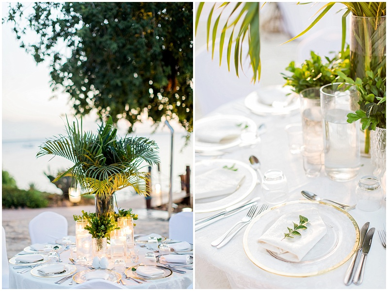 Tropical Zanzibar wedding decor