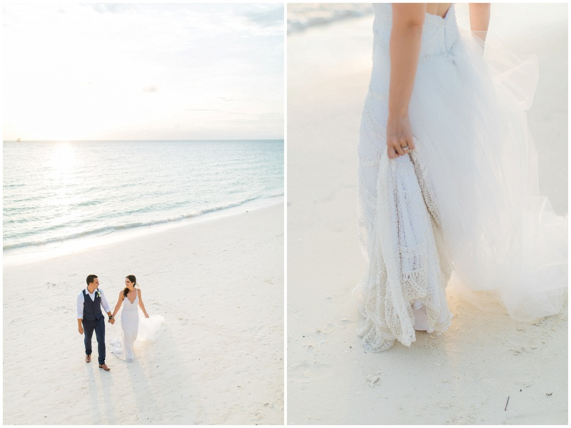 zanzibar wedding beach shoot