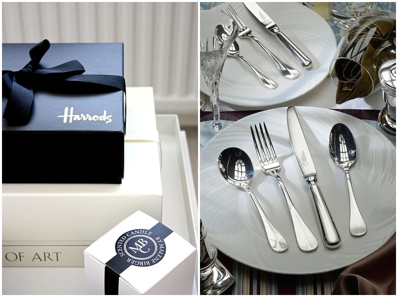 Harrods wedding registry