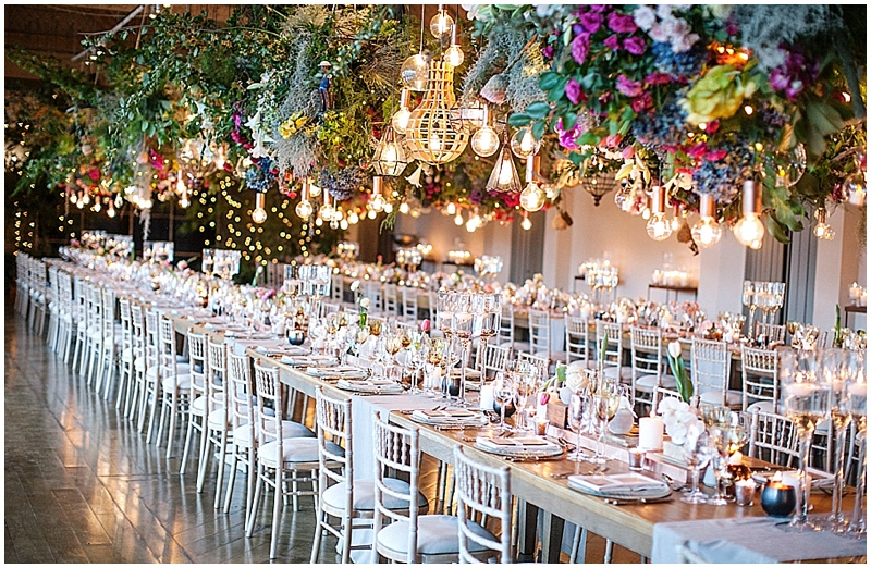 luxury wedding decor boschendal