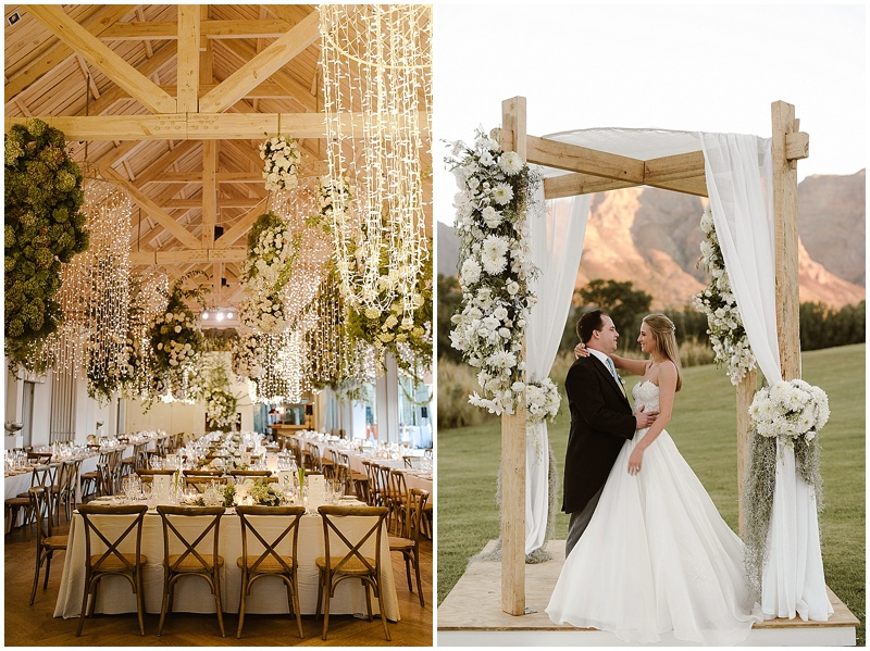 luxury wedding Boschendal