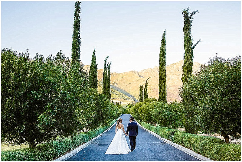 Grande Provence wedding couple