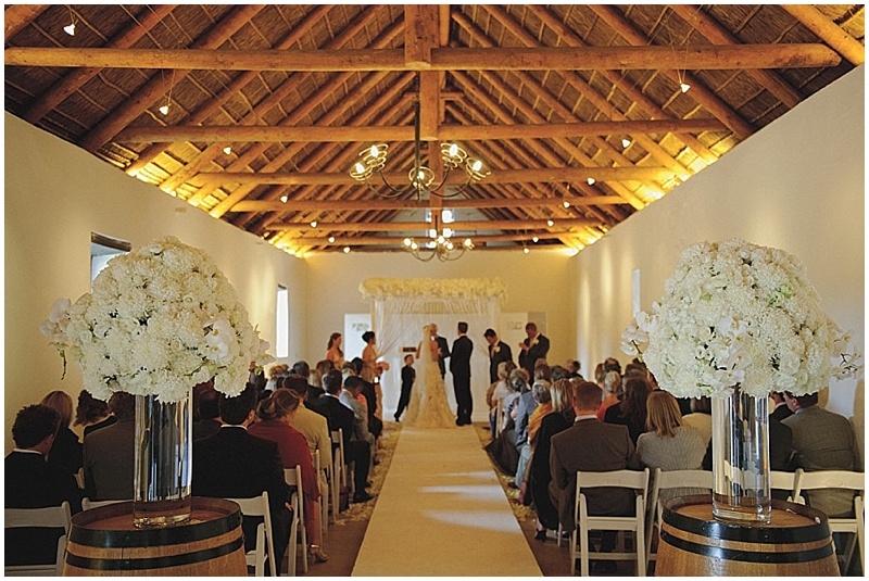 Vrede en Lust wedding ceremony