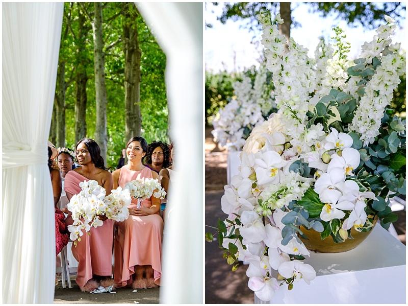 ceremomy flower arrangements