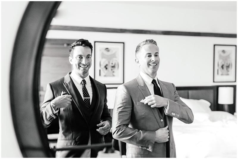 Gay wedding style