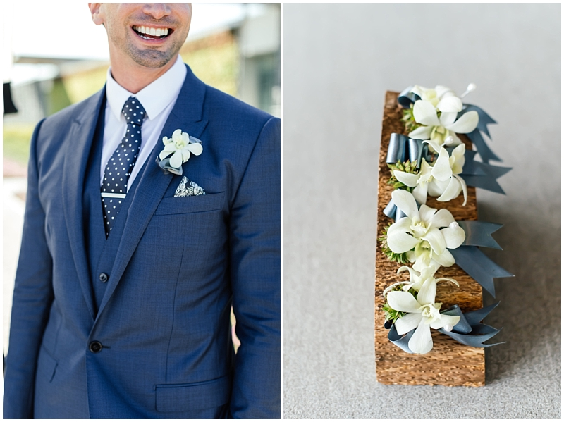 Buttonhole gay wedding