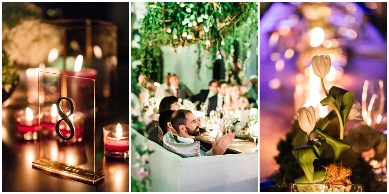 Mood lighting wedding
