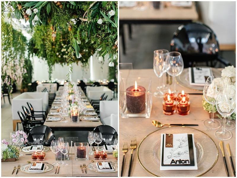 Lush wedding decor