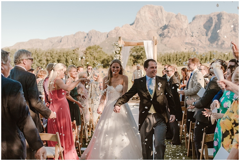 Boschendal wedding ceremony