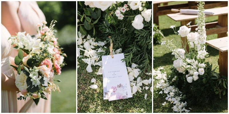 Romantic Ceremony Florals