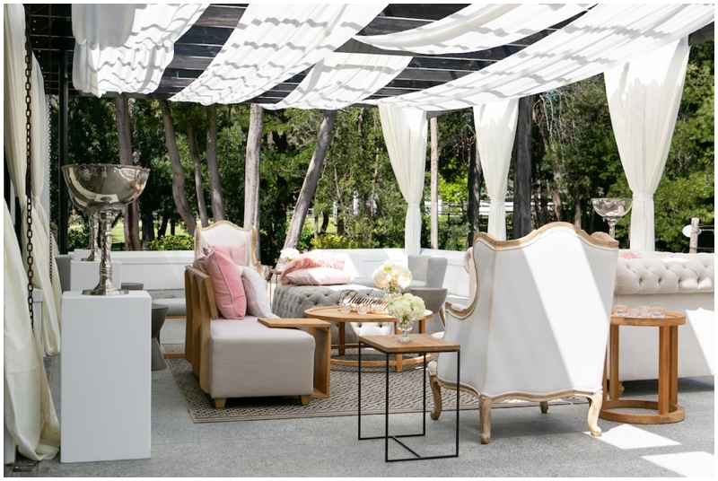 Luxury Designer Wedding Outdoor Seating Area