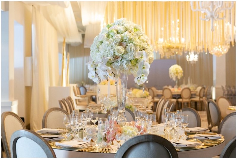 Glamorous Tall Floral Centerpiece