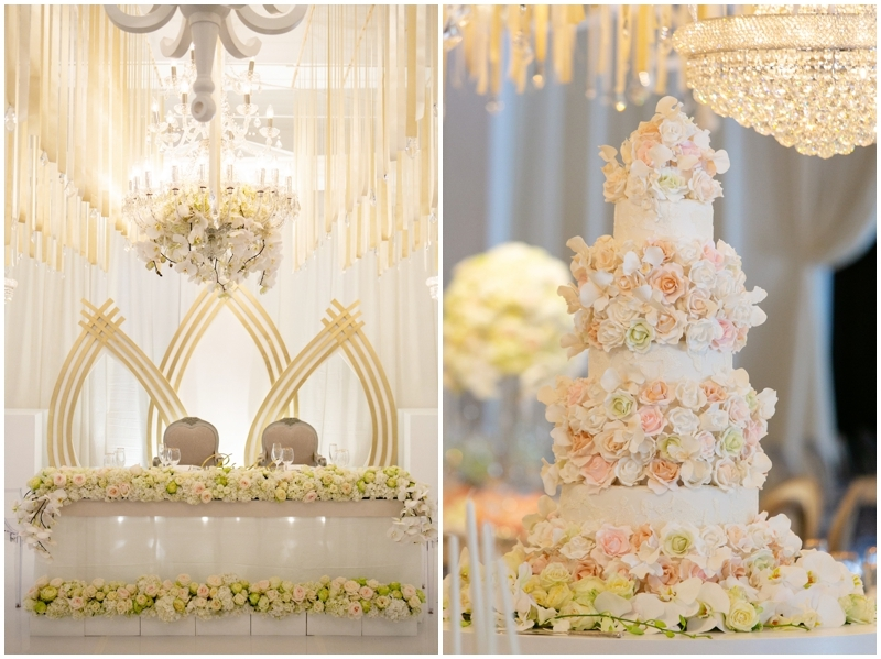 Luxury Floral Wedding Cake