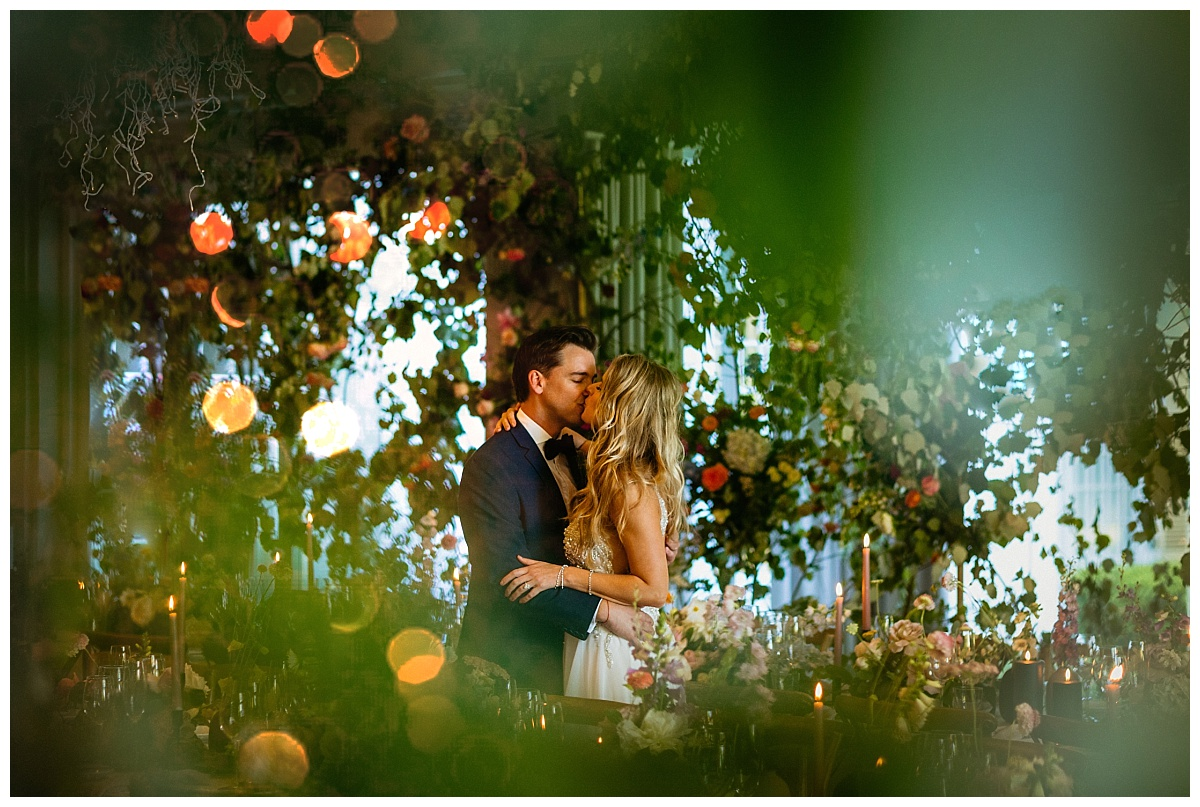 Embassy Hill - Couple in Floral Reception