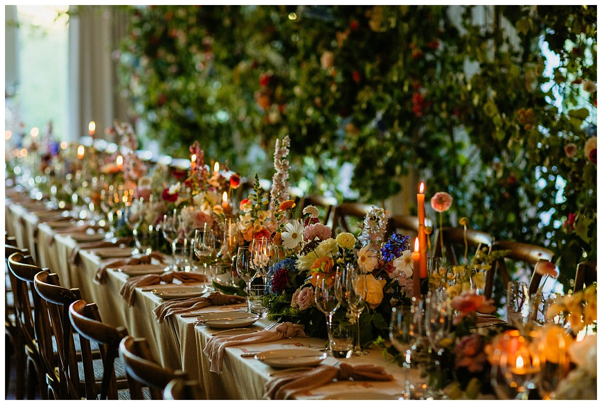 Embassy Hill - Floral and Custom Decor Reception