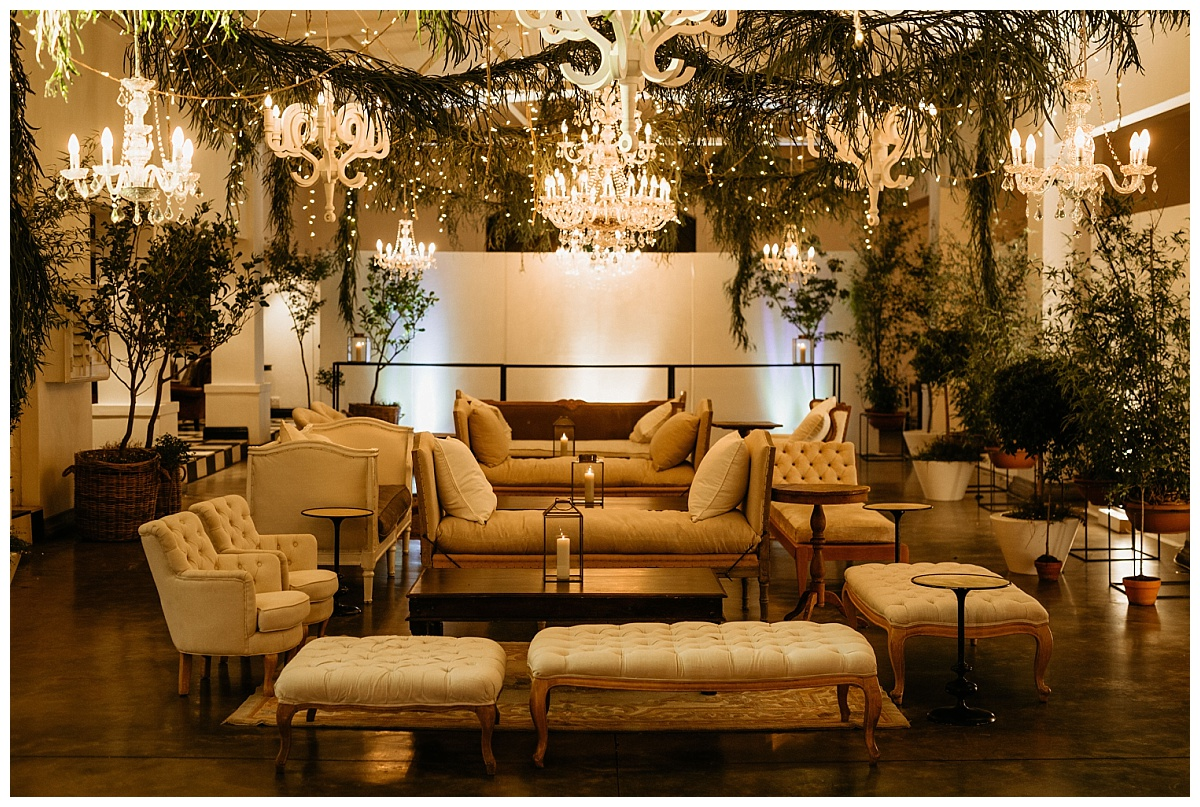 South African wedding destination after-party decor