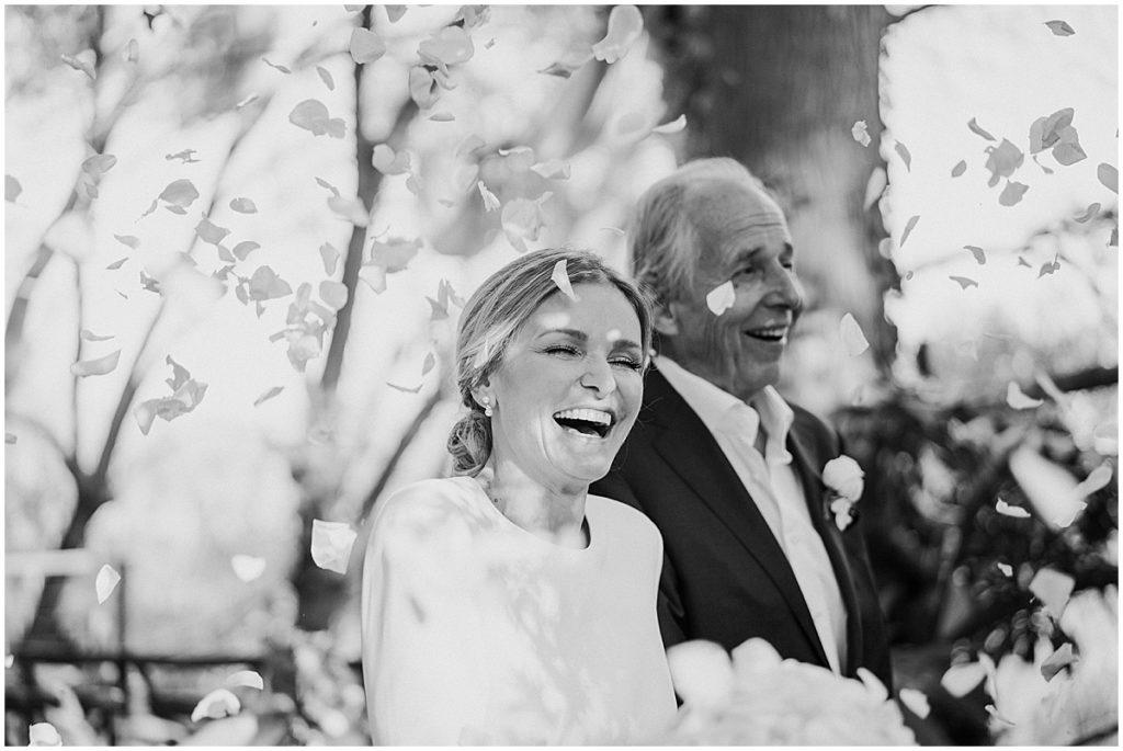 happy bride confetti