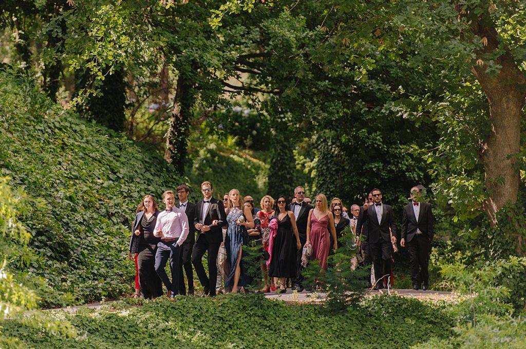 molenvliet wedding guest arrival
