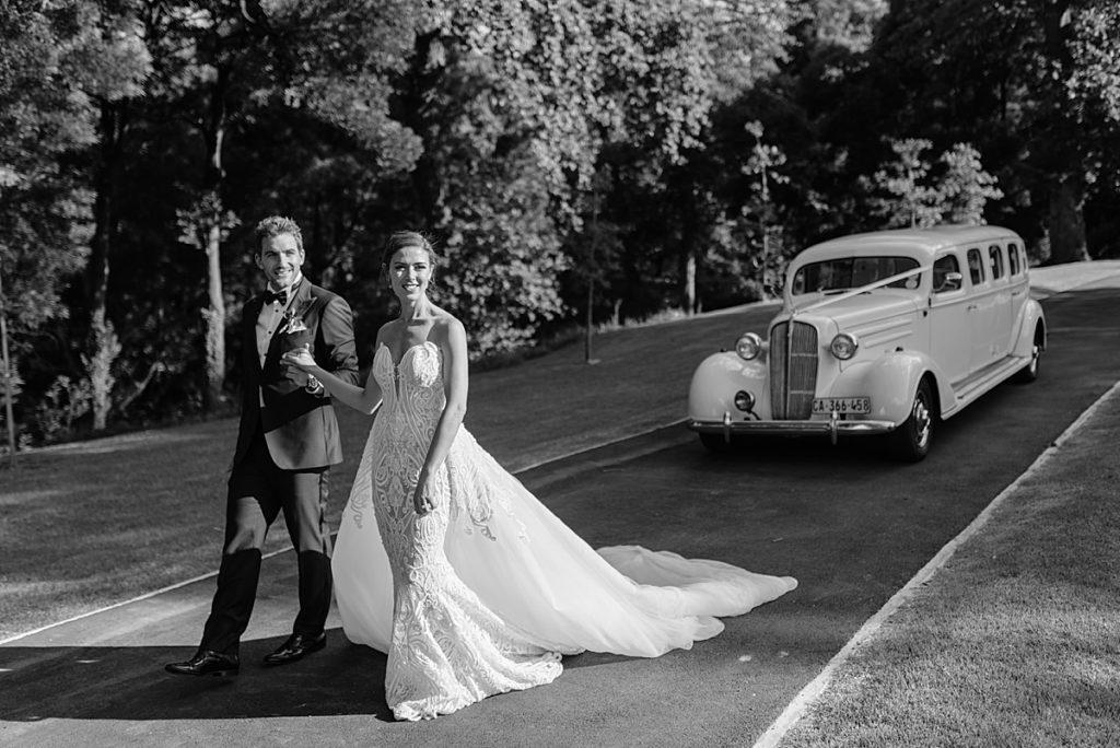 1936 Vintage Chevrolet limousine