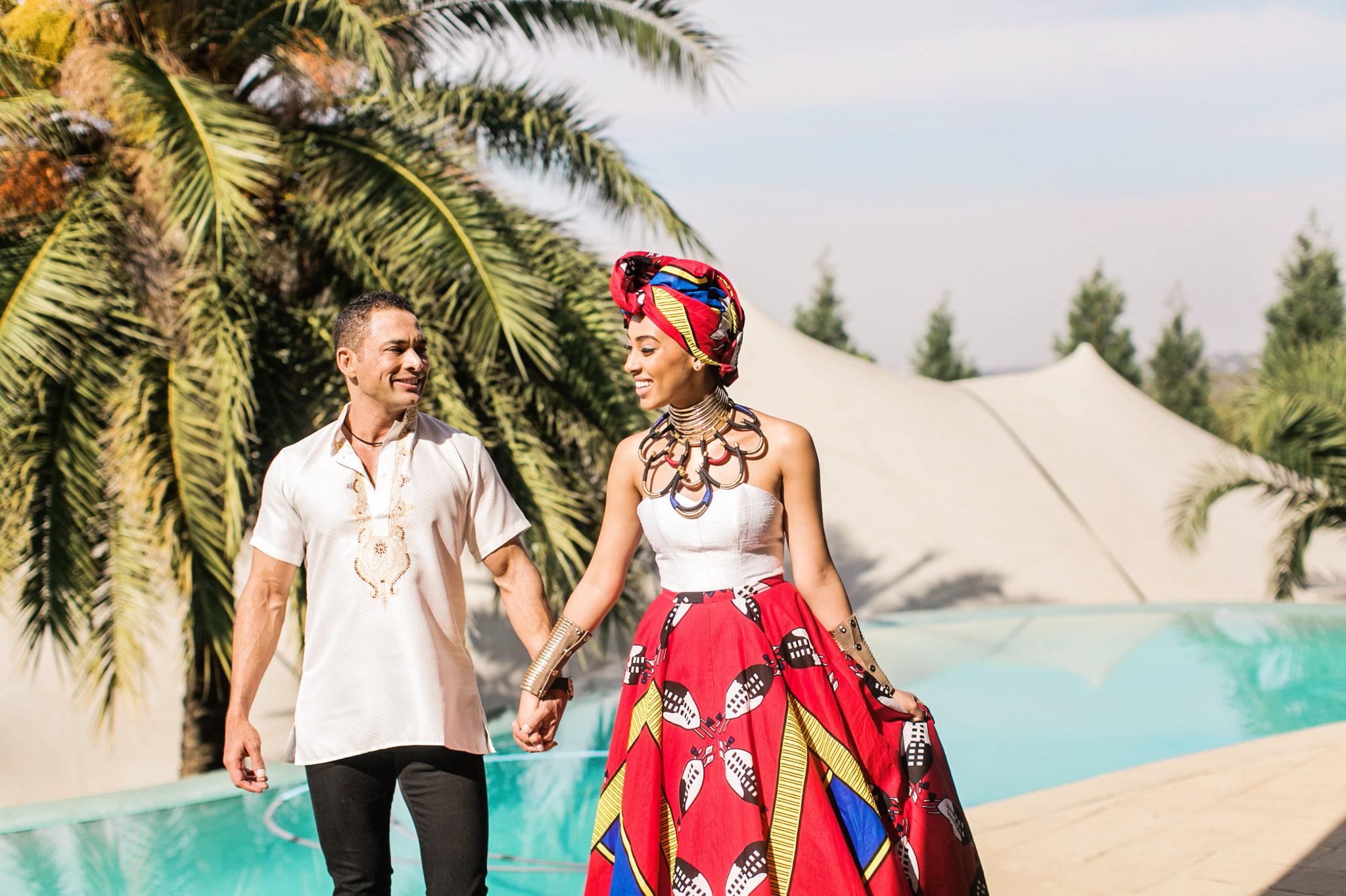 A Gorgeous Zulu And Swati Wedding - South African Wedding